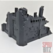 Ruined Building Scenery from Warhammer 40,000 3rd edition (C)